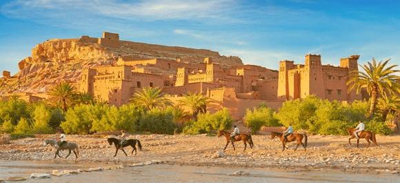 Ksar Ait Ben Haddou un patrimonio de la UNESCO