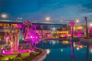 En Ain Diab Casablanca hay mucho ambiente por la noche, uno de ellos en Crystal Beach Club