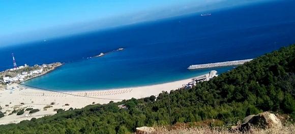 Al norte de Marruecos muy cerca de españa nos encontramos la playa de Dalia