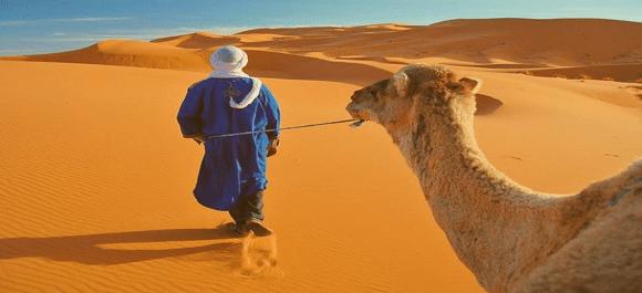 De verdad no terminar tu visita a Marruecos sin hacer un dia de paz por el desierto de Merzouga
