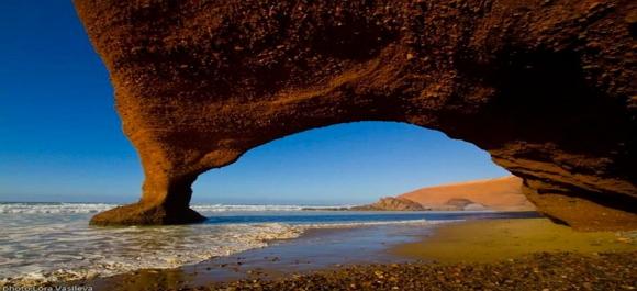 Una de las playas mas bellas de Marruecos