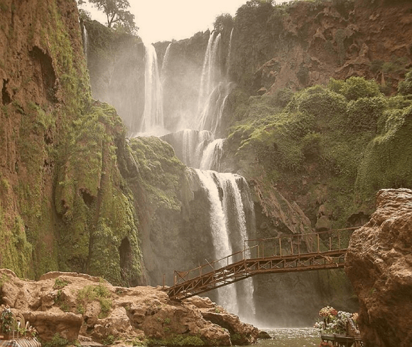 Las cascadas de Oued Ouzoud son las más bellas de Marruecos