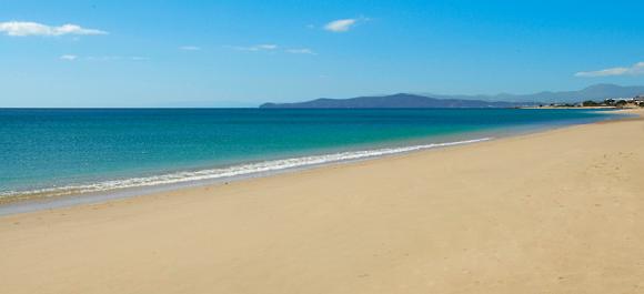 La playa blanca de guelmim