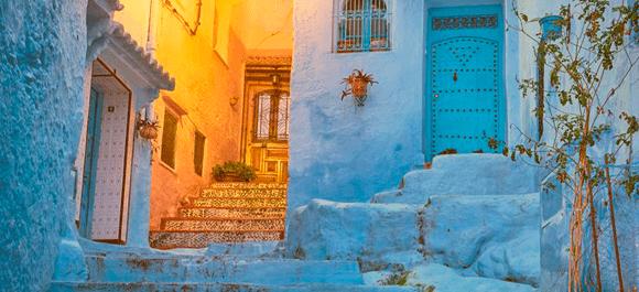Chaouen la belleza azulone marroquí