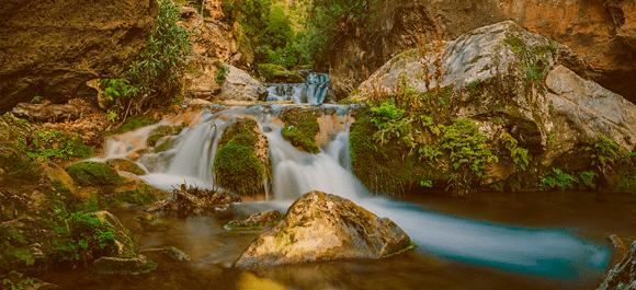 Las cascadas de akchour en chaeoun