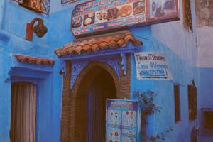 Restaurante Beldi Bab Ssour en Chaouen o Chefchaouen, Marruecos