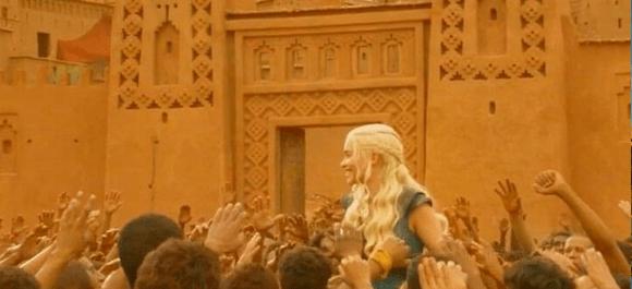 El cine en Ouarzazate - Juego de Tronos