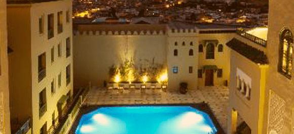 Un hotel de 5 estrellas para alojarse en Fez