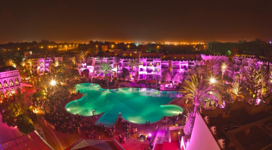La vida nocturna en Agadir