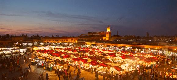 Marrakech galardonado con el premio de mejor destino del mundo en 2017