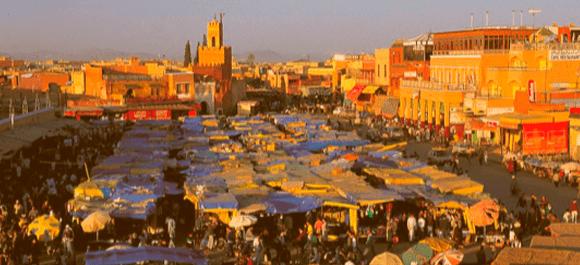 Introduce Marrakech en tu ruta por Marruecos