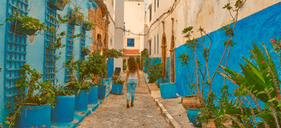 Rabat tiene un toque especial, entre modernidad y tradicional