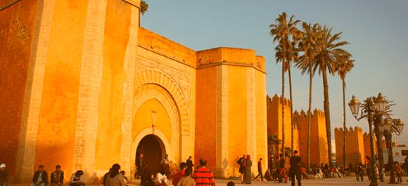 La muralla de Rabat es una de las más importantes de Marruecos