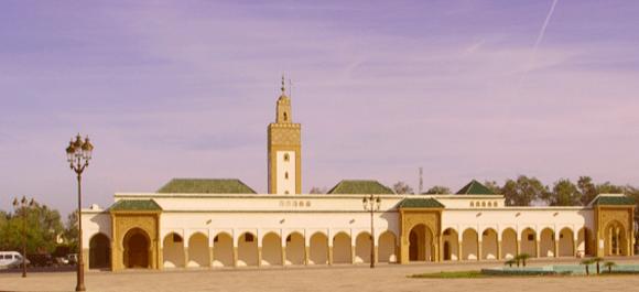 EL palacio real de Rabat Marruecos