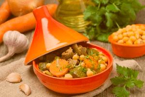 Tajin de cordero es uno de los platos más deliciosos de la gastronomía marroquí