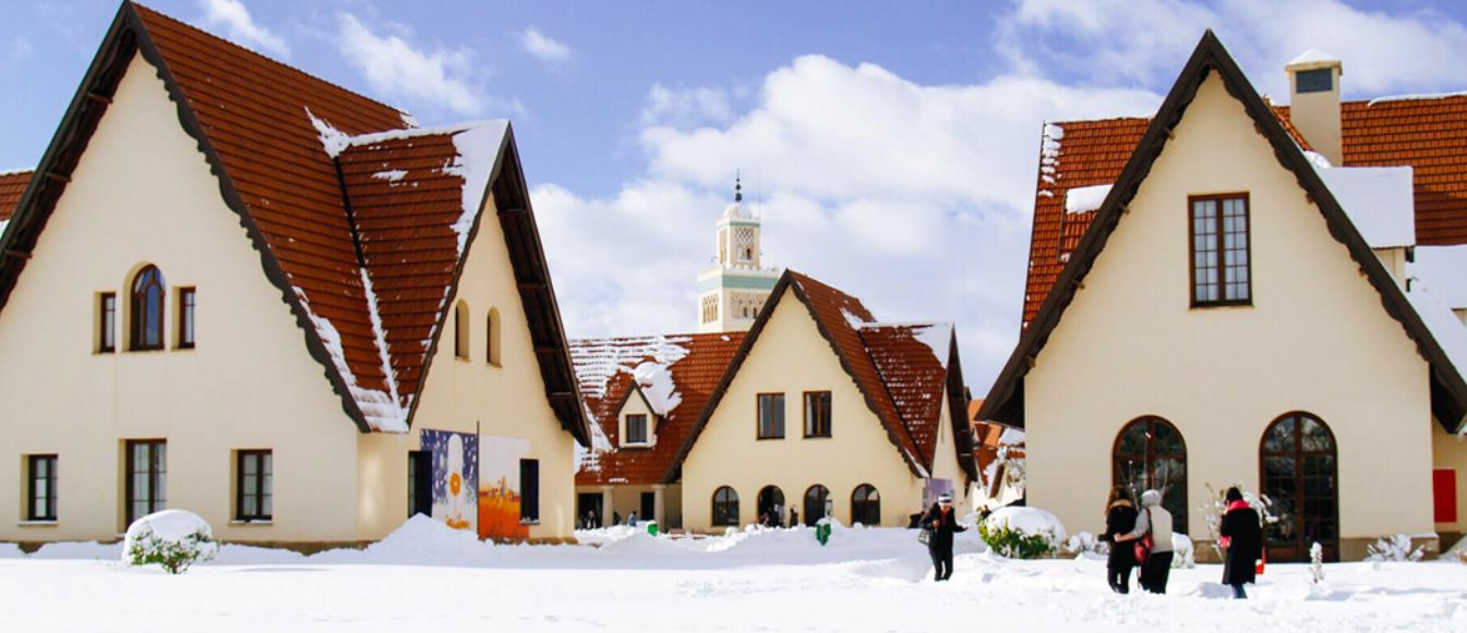 Ifrane, el paraíso de la nieve