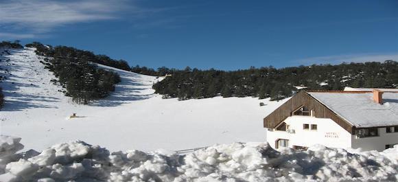 La estacion de esqui mas importante de marruecos se encuentra en Ifrane