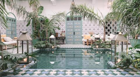 Cambia un hotel en Marruecos por un riad