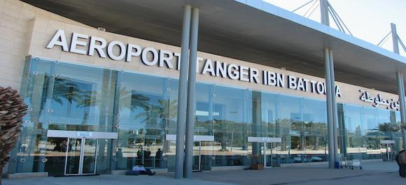 El aeropuerto de Tanger - Ibn battouta