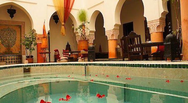 Riad en Marruecos