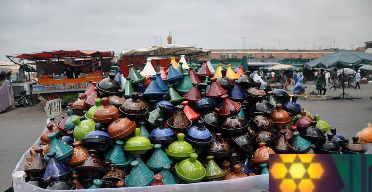 ¿Qué tipo de souvenirs comprar en Marruecos?