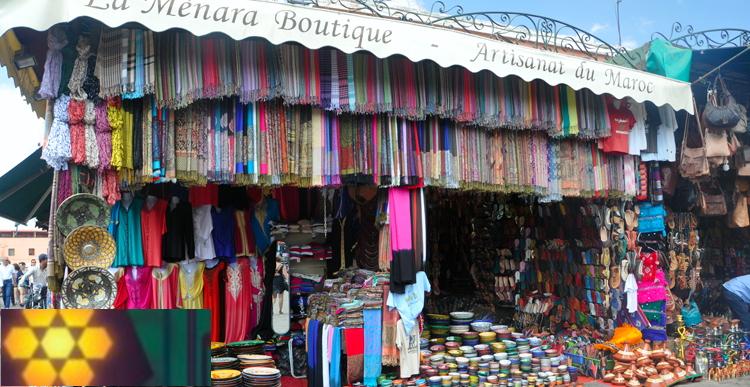 Haz tus compras de todo tipo en tu viaje por Marruecos