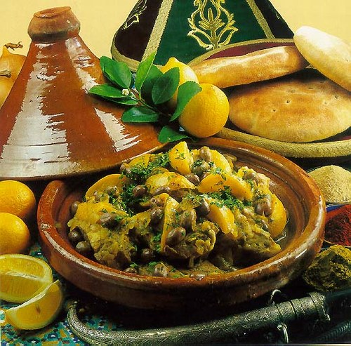 Tagine marroqui