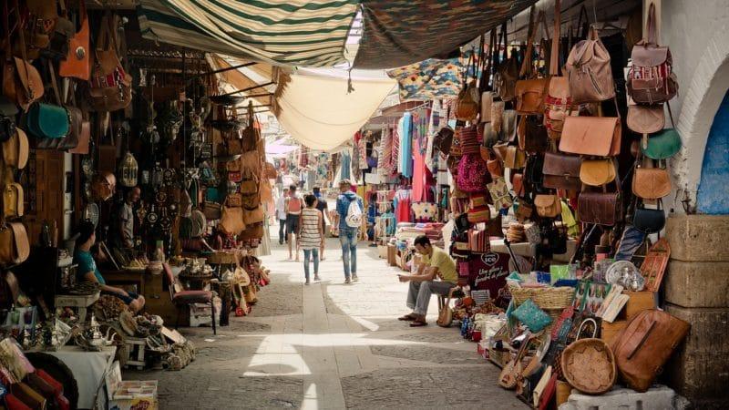Zocco de Rabat Marruecos