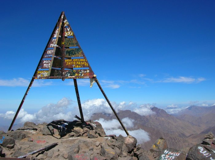Toubkal Marruecos la montañia más visitada y mas preciosa