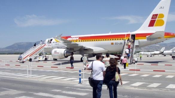 El coronavirus bloqueo los vuelos entre, Marruecos, Francia y España